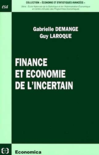 Finance et économie de l'incertain