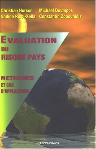 Evaluation du risque pays : Méthodes et cas d'application