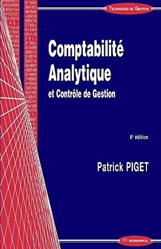 Comptabilite Analytique, 6e ed.