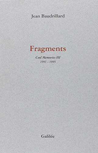 Cool memories. 3, Fragments, 1991-1995