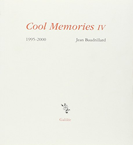 Cool Memories, IV