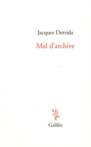 Mal d'archive