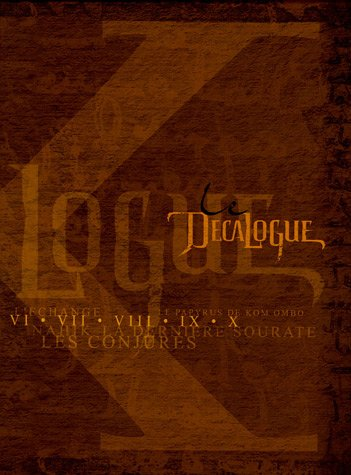 Le Decalogue : Coffret tomes 6 à 10