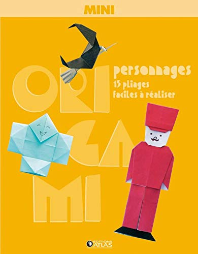 Mini origami : personnages |