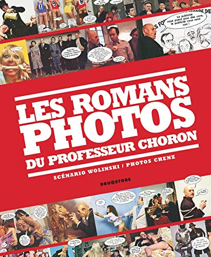 Les romans photos du professeur Choron