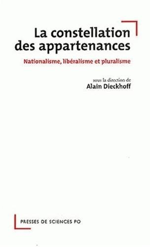 La constellation des appartenances : Nationalisme, libéralisme et pluralisme