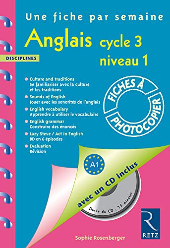 Anglais Cycle 3 niveau 1 (1CD audio)