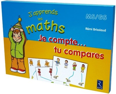 Je Compte Tu Compares Mallette J Apprends les Maths Ms/Gs