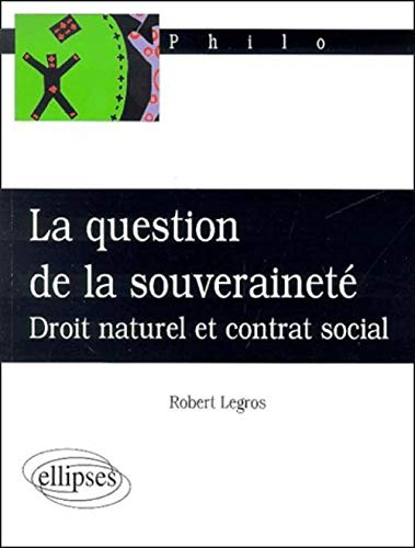 La question de la souveraineté