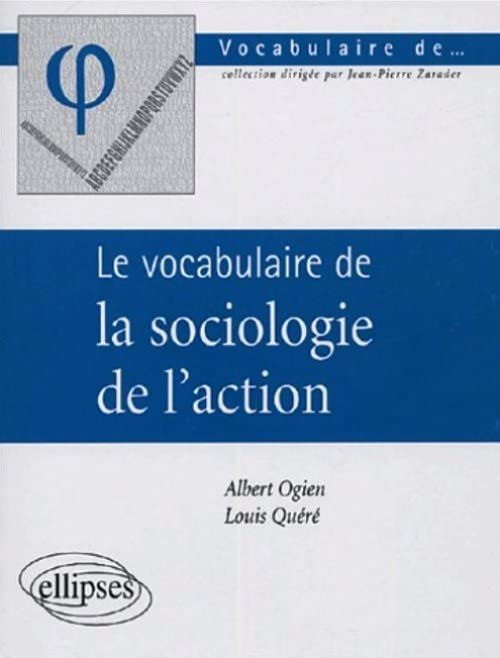 Le vocabulaire de la sociologie de l'action