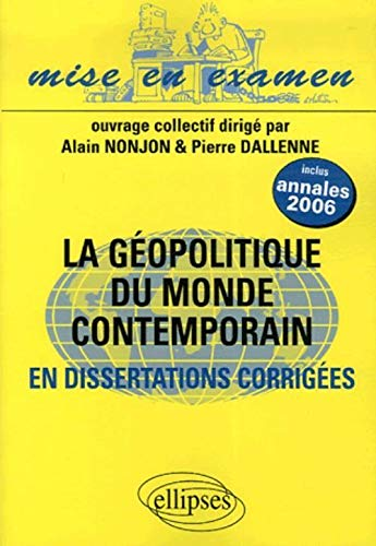 La géopolitique du monde contemporain