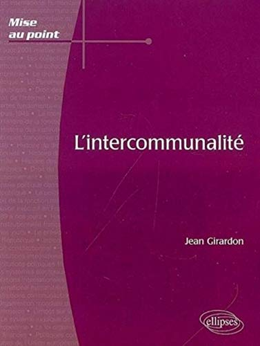 L'intercommunalité