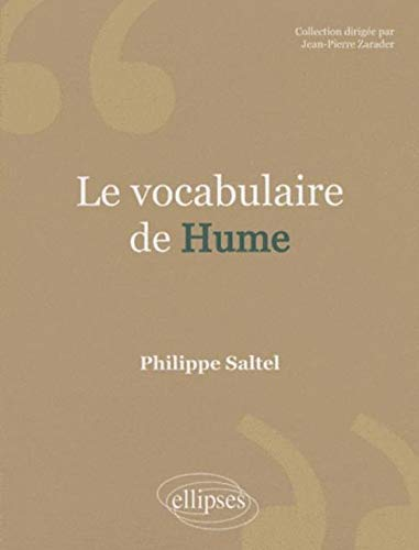 Le vocabulaire de Hume