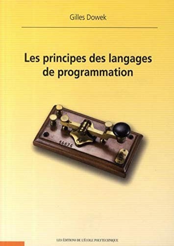 Principes des langages de programmation