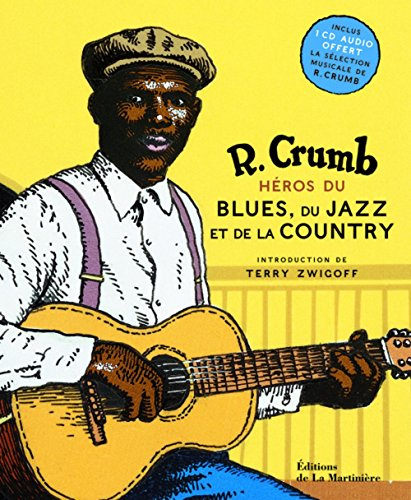 Héros du blues, du jazz et de la country (1CD audio)