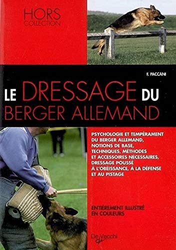 Le dressage du Berger allemand
