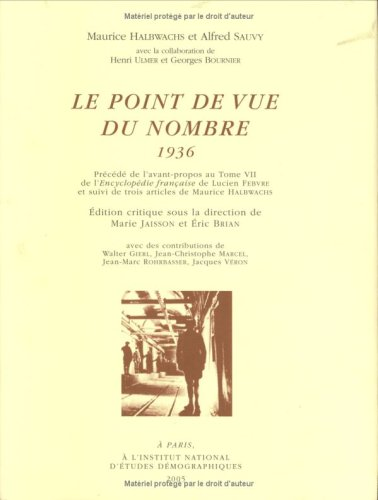 Le point de vue du nombre 1936