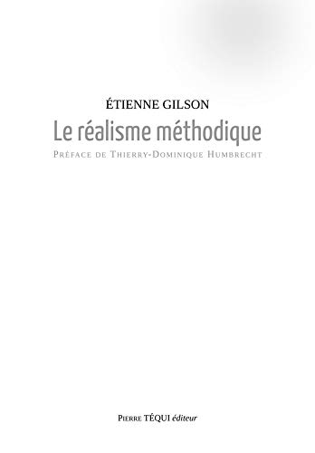 Le Realisme Methodique