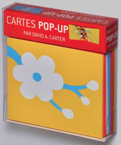 Boites de Cartes Carter Pop-up blossoms