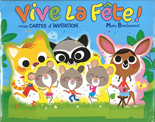 Vive la fête mes cartes d'invitation