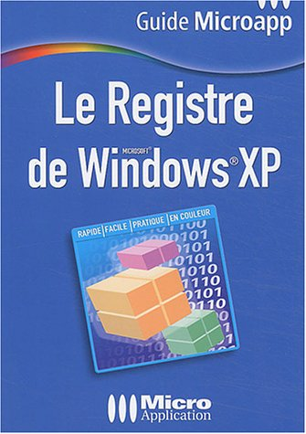 Le registre de Windows XP, numéro 51