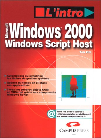 Windows 2000 : Windows Script Host