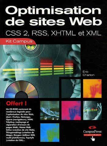 Améliorer son site Web : CSS - RSS - XML 2 - XHTML (CD-Rom)