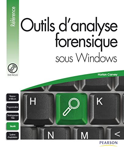 Outils d'analyse forensique sous Windows (1DVD)