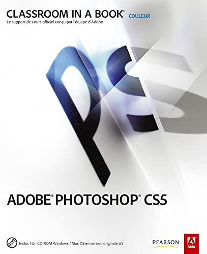 Adobe photoshop CS5 (1Cédérom)