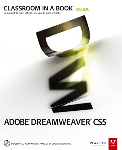 Adobe Dreamweaver CS5 (1Cédérom)