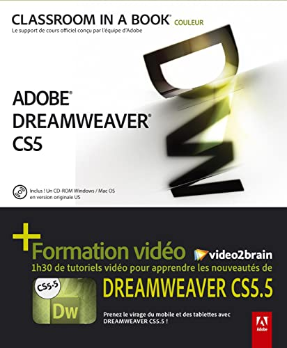 Dreamweaver CS 5.5 + formation video2brain