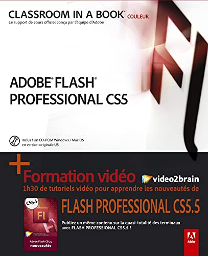 Flash Pro CS5.5 + formation video2brain