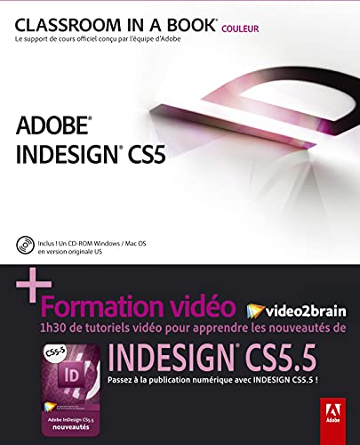 Indesign CS 5.5 + formation video2brain