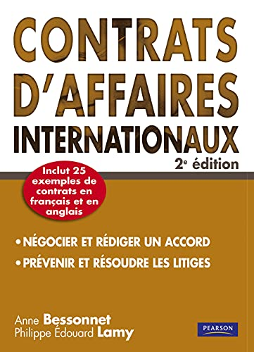 Contrats d'affaires Internationaux 2e ed.
