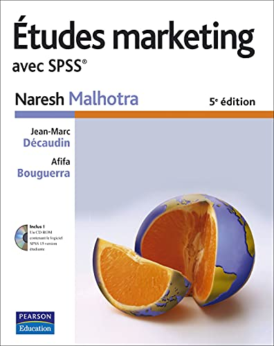 Etudes marketing avec SPSS (1Cédérom)