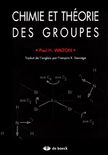 Chimie et theorie des groupes