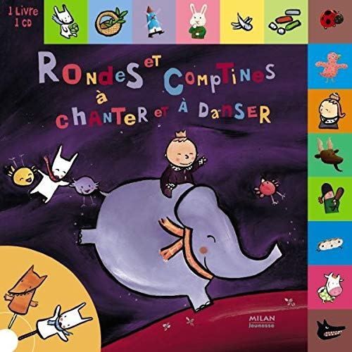 Rondes et comptines à chanter et à danser (1CD audio)