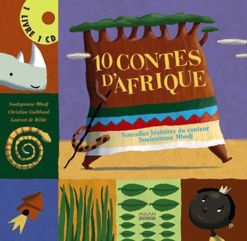10 Contes d'Afrique (1CD audio)
