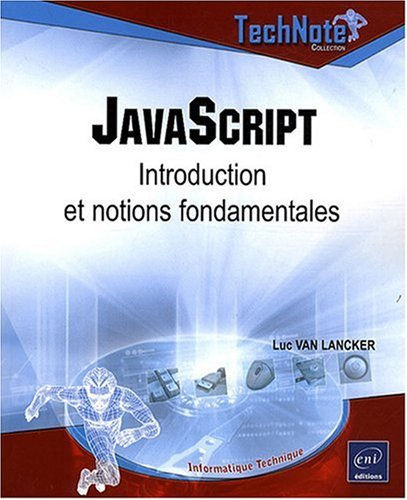 JavaScript - Introduction et notions fondamentales