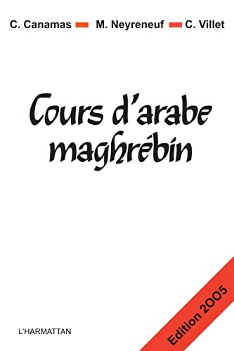 Cours d'Arabe Maghrebin