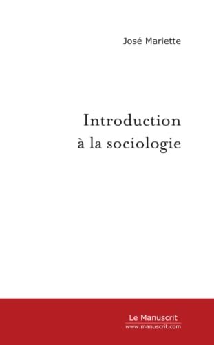Introduction a la Sociologie