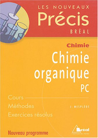 Chimie organique PC
