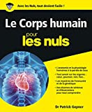 le corps humain manuel didentification