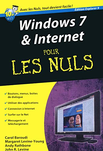 Windows 7 & Internet pour les nuls : Edition Explorer 9