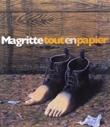 Magritte tout en papier : Collages, dessins, gouaches