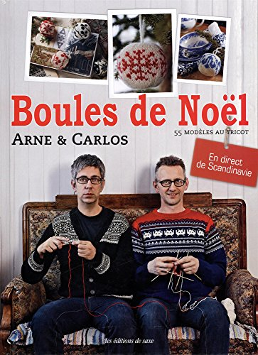 Boules de Noël: 55 modèles au tricot, en direct de Scandinavie