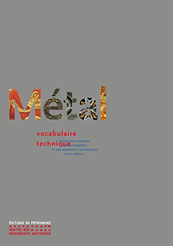 Métal : Vocabulaire technique