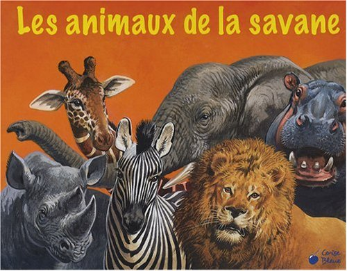 Animaux de la Savane (Pop-Up Géants)