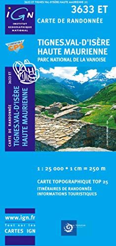Val d'Isere/Haute Maurienne GPS: IGN.3633ET