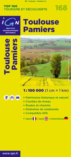 Toulouse/Pamiers: IGN.V168